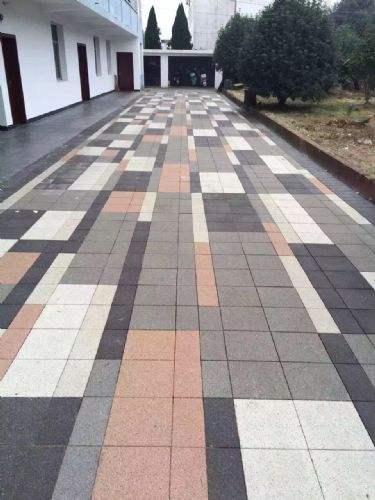 陶瓷透水砖--路面砖
