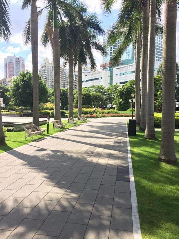 陶瓷透水砖--三亚公园